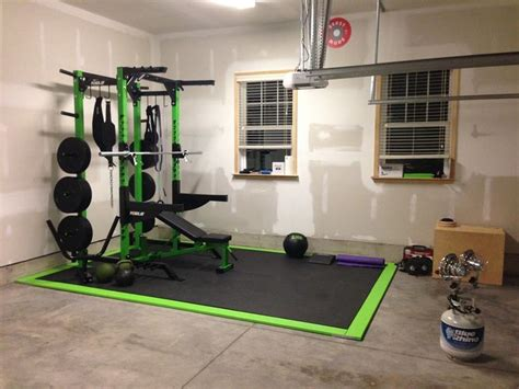 crossfit garage elite half rack bar bumpers