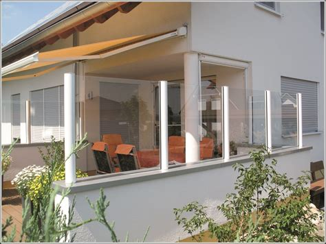 Terrasse Windschutz Glas by Windschutz Terrasse Glas Metall Terrasse House Und