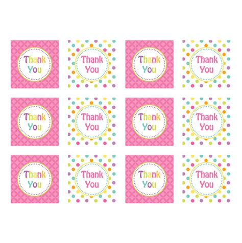 printable thank you label free printable thank you labels search results