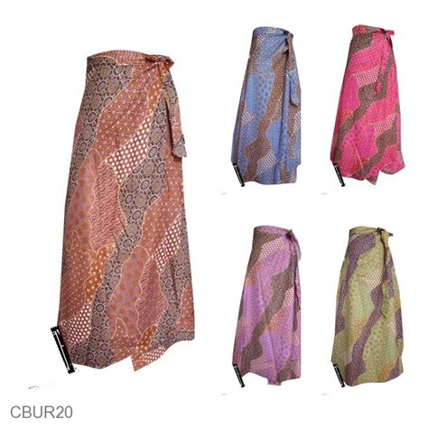 Rok Lilit Murah Batik rok batik lilit panjang motif sekar langit bawahan rok murah batikunik