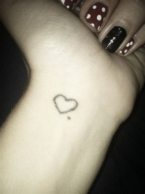 heart tattoo on wrist pinterest wrist heart tattoo tattoos pinterest