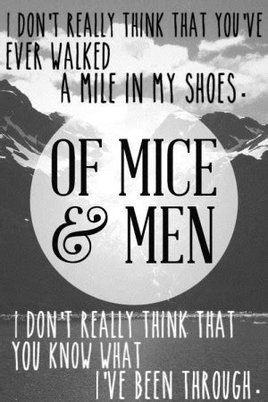 mice  men friendship quotes quotesgram