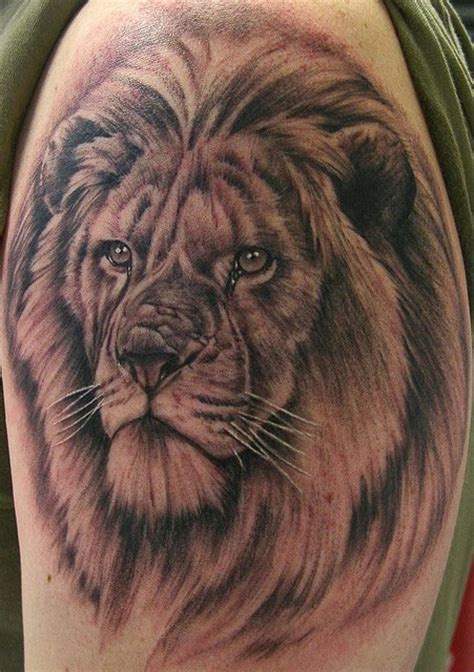 3d lion tattoo designs amazing world realist 3d on arm