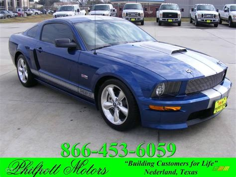 vista color 2008 vista blue metallic ford mustang shelby gt coupe