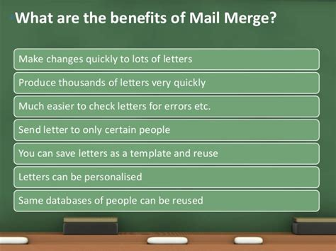 Benefit Of Change Mba To Ms by Using Mail Merge In Microsoft Word By Sabrina Mahmood