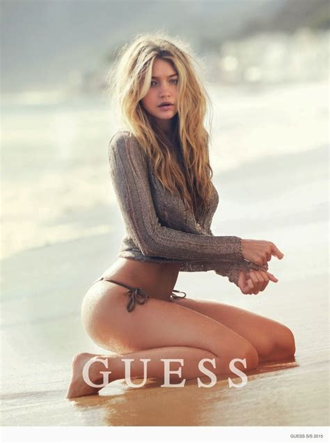 feelfreeartz gigi hadid stars in sexy guess spring 2015 campaign photos
