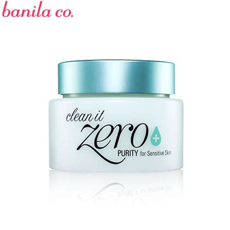 Banila Co Clean It Zero Purity 100 Ml box korea banila co clean it zero 100ml purity for sensitive skin best price and
