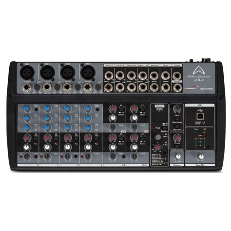 Mixer Wharfedale wharfedale connect 1202fx usb 12 channel mixer with usb connectivity at gear4music