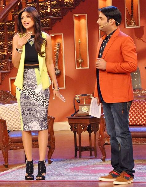comedy nights with kapil on the sets the times of india download shilpa shetty with kapil sharma on the sets of