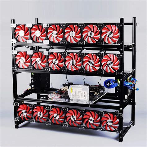 Rak Casing Mining Rig For 4 8 Vga Aluminium Rx 580 Rx580 Gtx 1070 המקרים במחשב והמגדלים פשוט לקנות באלי אקספרס בעברית זיפי