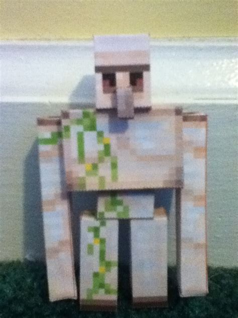 Papercraft Minecraft Iron Golem - minecraft papercraft iron golem by imabanana3001 on deviantart