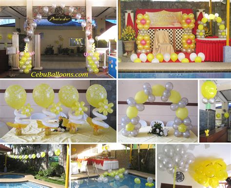 cebu balloons  party supplies
