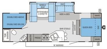 trailer floor plan trailer floor plans spree luxury lightweight travel