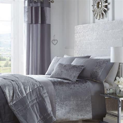 Grey Linen Curtains Uk Stunning Crushed Velvet Luxurious Dove Grey Duvet Cover