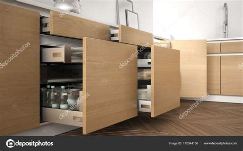 imagenes uñas modernas сучасна кухня відкрив дерев яні ящики з аксесуари