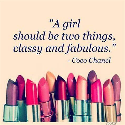 Lipstick Chanel Quotes a should be two things and fabulous coco chanel makeup quotes makeup room