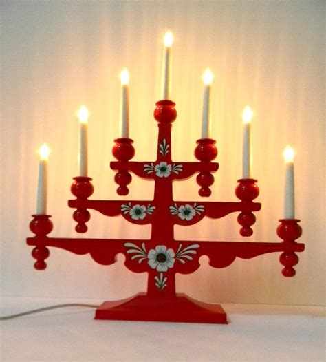 swedish christmas candelabra from gnosjo konstsmide circa