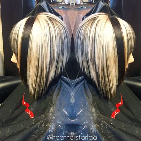 chunky blonde top dark under 571 best images about hair on pinterest her hair blue