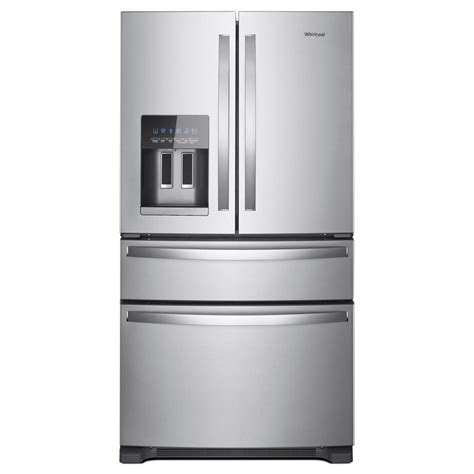 Kitchen Faucets Discount whirlpool 36 in w 25 0 cu ft french door refrigerator