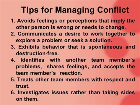 12 Basic Tips For Dealing With Conflict by Conflict Management Ppt