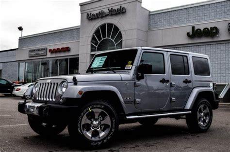 jeep sahara 2016 price 2016 jeep wrangler unlimited sahara silver north york
