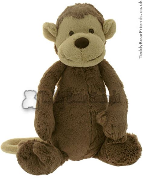 big monkey jellycat teddy bear friends