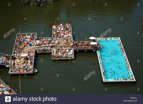 badeschiff bathing ship public swimming pool river