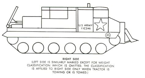 vehicle identifier section tb746 93 1 colour and marking of military vehicles section 3