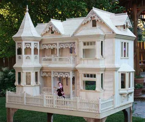 barbie doll house plans 04 fs 152 victorian barbie doll house woodworking plan woodworkersworkshop