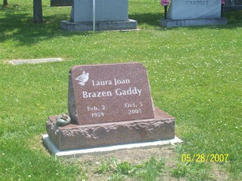 joan brazen gaddy 1959 2005 find a grave memorial