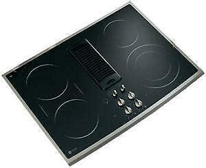 30 inch downdraft electric cooktop 30 electric cooktop downdraft ebay