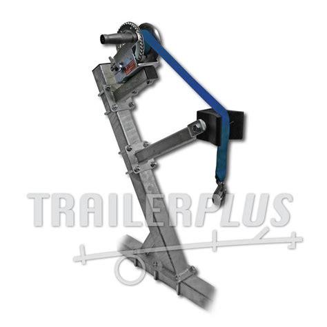 boottrailer stallen bootliersteun compleet voor koker 60 trailerplus nl