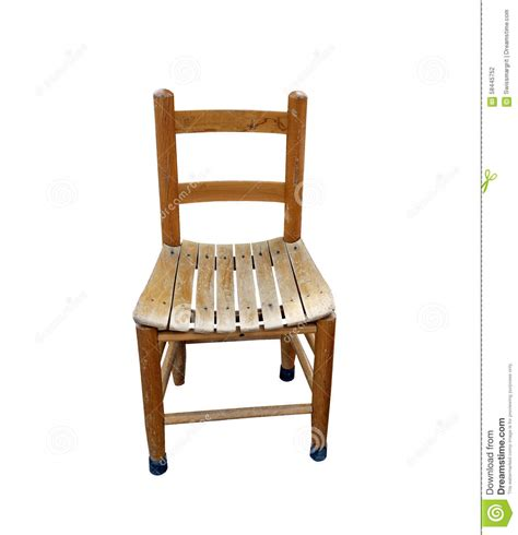 small wooden chair for child stock photo image 58445752