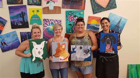 painting with a twist paint your pet review paint your pet pop the artsy fartsy studio