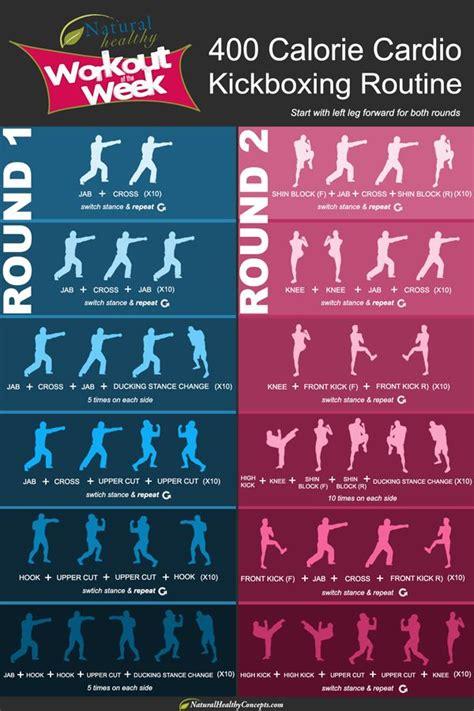 400 calorie cardio kickboxing routine fitness lifestyle