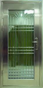 what are your security doors made of down under