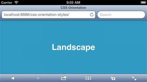 page layout css landscape applying pixelpush design