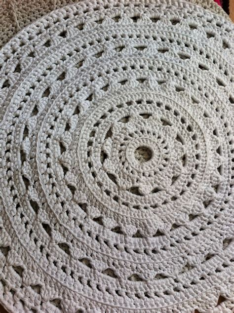 cotton rope crochet rug beautiful crochet bespoke rugs cotton rope
