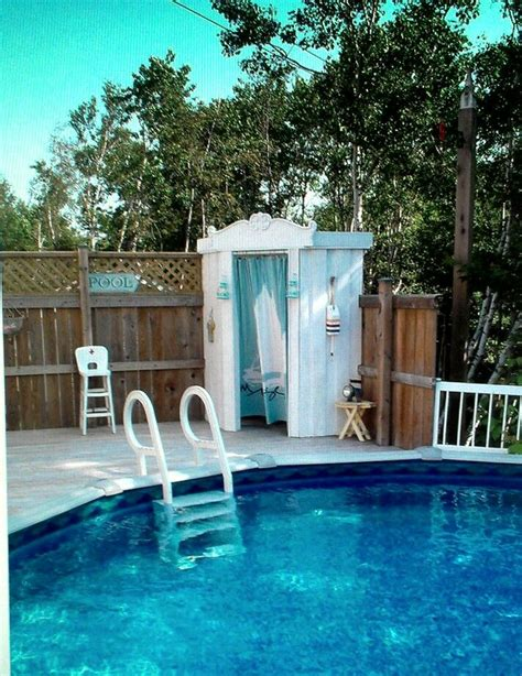 Swimming Pool Shed by 1000 Images About Small Shed Cabana On Pool