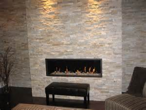 stacked stone tile fireplace surround home design ideas
