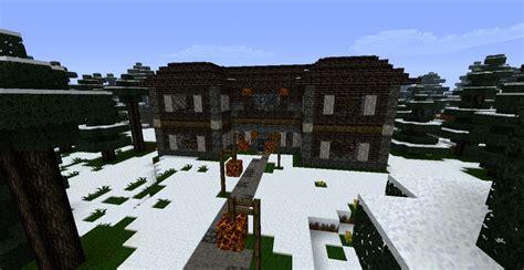 Minecraft Winter Cabin by Winter Cottage Minecraft Images
