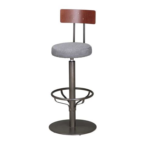 bar stool with back rest feltham swivel bar stool with back rest andy thornton