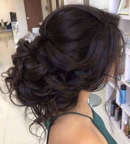 Wedding Hairstyles For Brown Hair by Curls Updo Wedding Hairstyle Low Updo Updo And