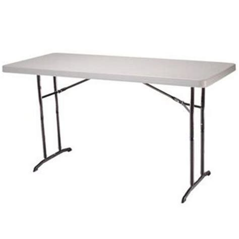 6 Ft Folding Table 6 Foot Adjustable Folding Table Walmart Ca