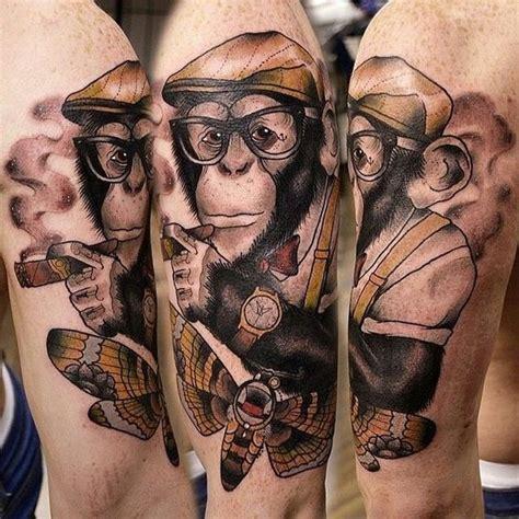 32 adorable monkey tattoo designs amazing tattoo ideas