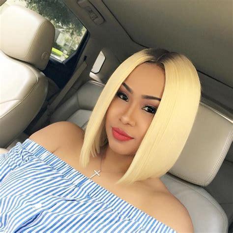 blonde bob on brown skin 279 best blunt images on pinterest hair cut hair dos