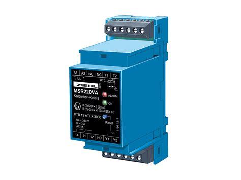 ptc thermistor din 44081 ptc thermistor relay type msr220va ziehl industrie elektronik gmbh co kg