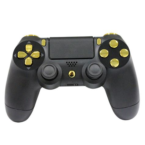 Hoodie Jumper Broadcast Yourself playstation dualshock 4 custom controller gold on matte