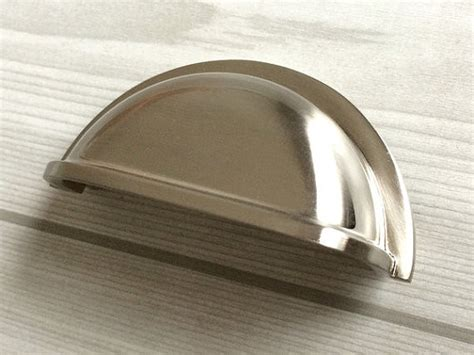 Cup Pulls On Cabinet Doors 3 Drawer Pull Dresser Pulls Knobs Handles Shell Cup Bin