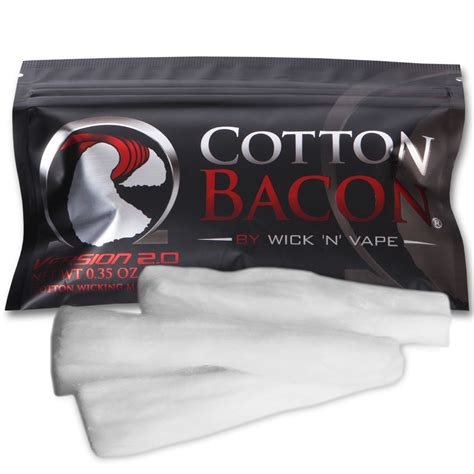 Cotton Bacon V2 By Wick N Vape Authenthic Kapas Vape Vapor cotton bacon v2 0 by wick n vape uk eliquid shop